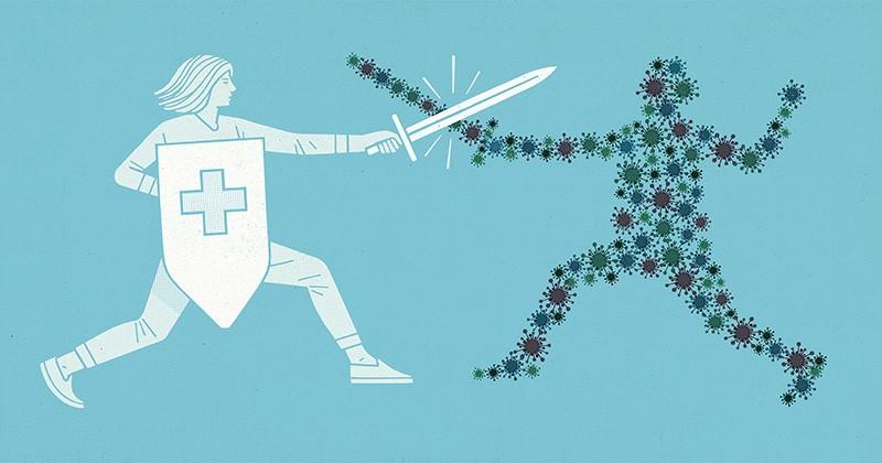 نقش ویتامین ها در تقویت سیستم ایمنی بدن - نقش ویتامین ها در تقویت سیستم ایمنی بدن